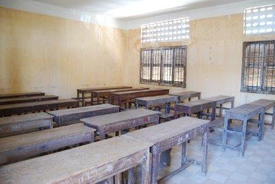 Her fantes en gang et trygt klasserom.....