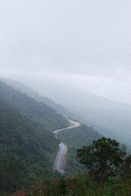 Veien over fjellpasset :-)