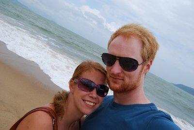 Gåtur på stranda :-)