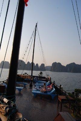 Soldekket på båten