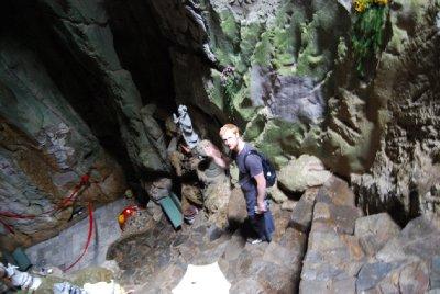 Kjæresten i hulen :-)