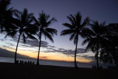 En helt vanelig solnedgang i Port Douglas :-)