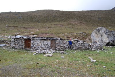 Et lite hus i Himalaya.......
