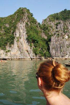Utsikt fra båten :-)
