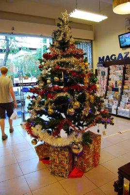 Julepyntet butikk....i midten av november!