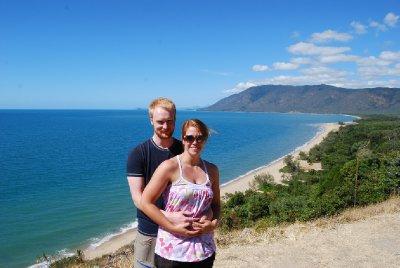 Utsiktspunktet mellom Cairns og Port :-)