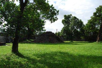 Bunker midt inni palasset