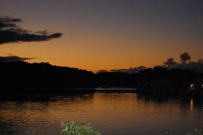 Solnedgang i nydelige Port Douglas!!!