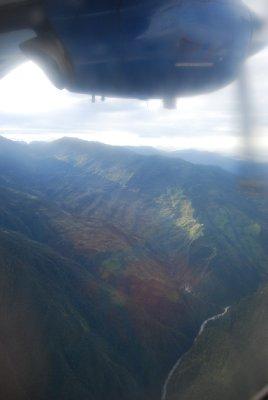Himalaya sett fra lufta