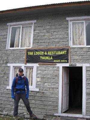 Vi har endelig nådd Dugla på 4620 meter :-)