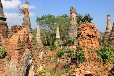 ruins at Indien