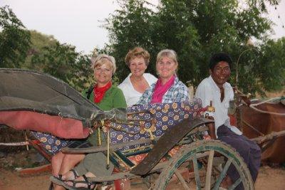 us in horse cart bagan