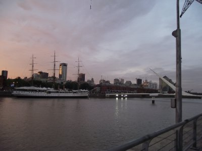 Visâo de Puerto Madero