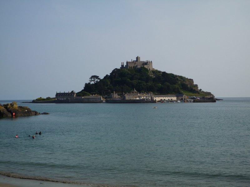 The Mount  Cornish scene