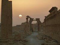 Sunrise at Palmyra