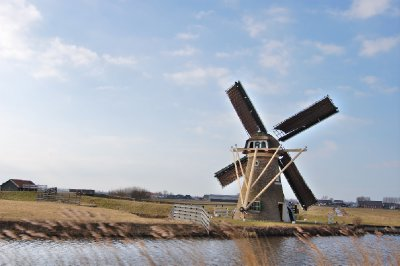 one of the many windmills of holland