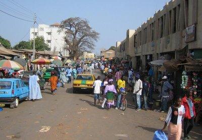 View into Serekunda
