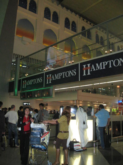 Smoking Booth at Dubai Airport