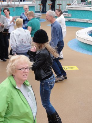 Cruise Day 1 - Bon Voyage