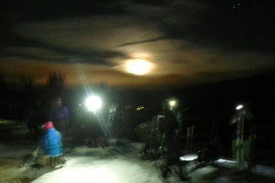 Moonlight Rendevous on Peak 9