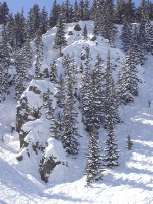 Day Two of Extreme Ski Competition at Taos, NM