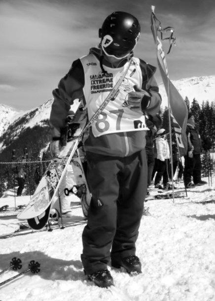 Extreme Ski Comp at Taos, NM