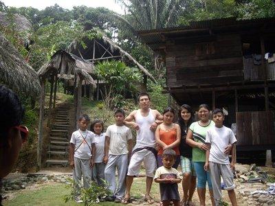 family who run Pimpilala (minus Delfin and Estela)