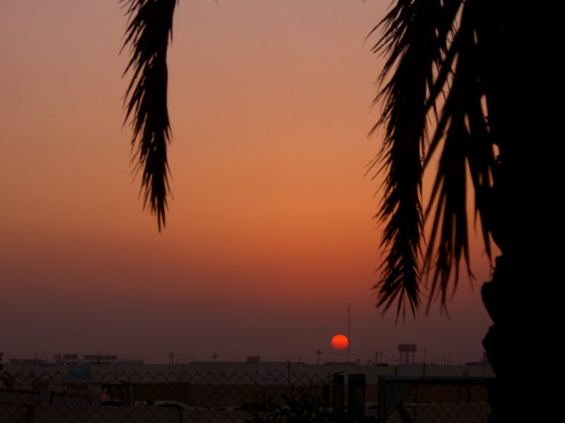 Iraq Sunset