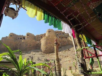 View of Jaisalmer fort