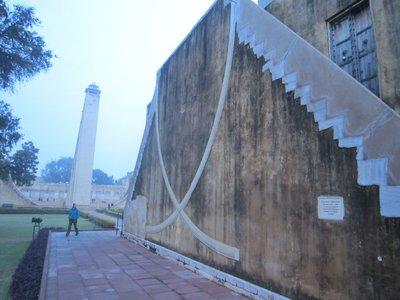 Jantar Mantar - an observatory built in 1728