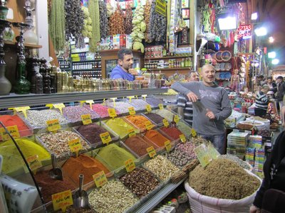Istanbul spice sellers