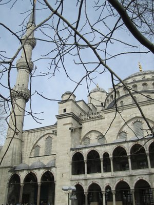 Blue Mosque from the outside
