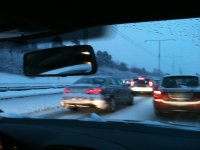 Swedish traffic jam