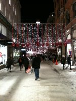Stocholm Christmas lights