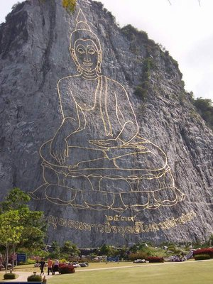 Buddha picture in Chonburi
