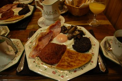 outro full Scottish Breakfast