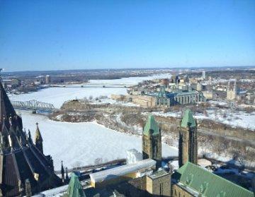 Northward view of Ottawa 2