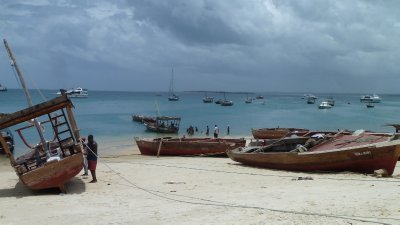 Harbour in Stone Town, Zanzibar