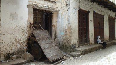 Streets of Stone Town. Zanzibar