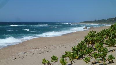 The beaches go on forever.  Umzumbe