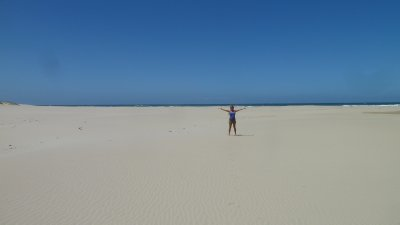 Biggest beach ever!  Cinsta