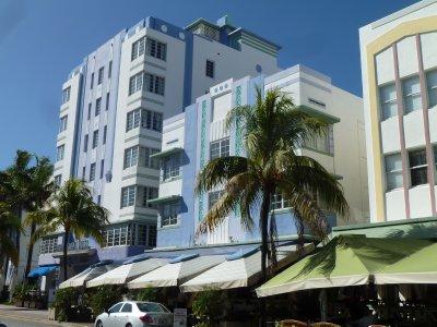 Art Deco in South Beach.