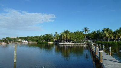 Coconut Palm Inn - nothing to do but do nothing.  Key Largo, Florida
