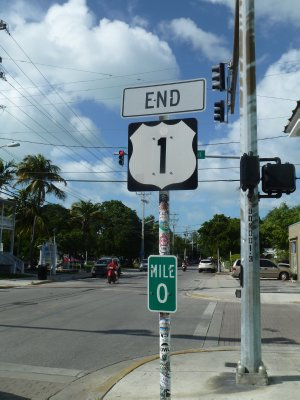 The end...of the beginning!  Key West, Florida