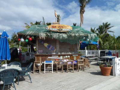 Gotta love beach bars!  Great Guana Cay, Bahamas
