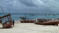 Harbour in Stone Town, Zanzibar