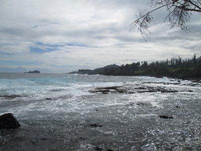 Pebbled Ocean Floor