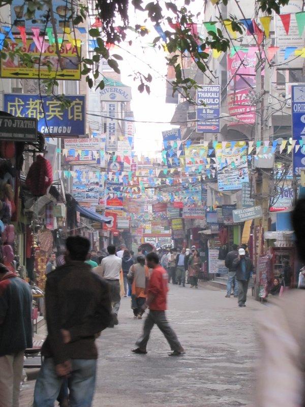Tourisme à son meilleur - Kathmandu