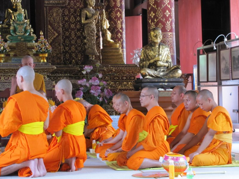 Cérémonie à Chiang Mai