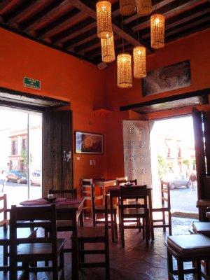 Cafe in Oaxaca
